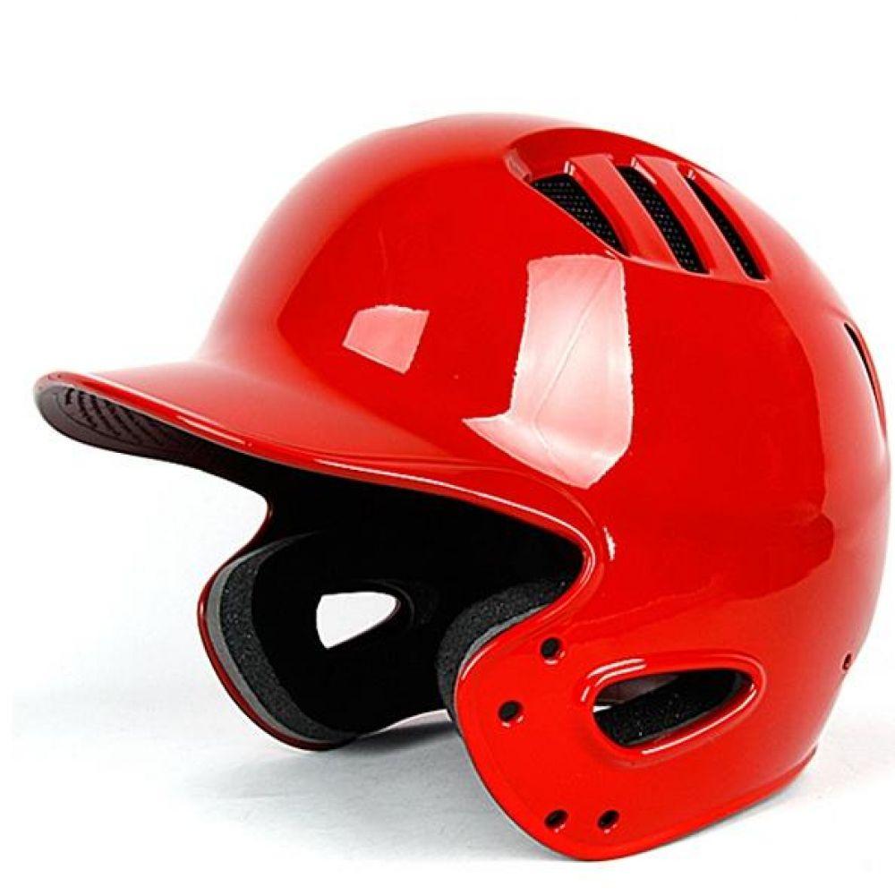 브렛 사이즈조절형 양귀 야구헬멧 유광레드 타자헬멧 야구용품 야구헬멧 스포츠헬멧 타자헬멧 타자보호헬멧 양귀헬멧