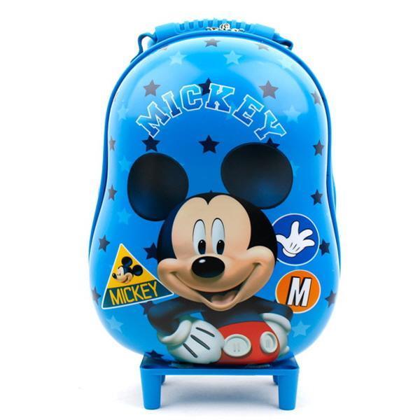 미키마우스 땅콩 캐리어 배낭MK0098 여행가방 블루-M 가방 아동가방 어린이보조가방 책가방 유아가방
