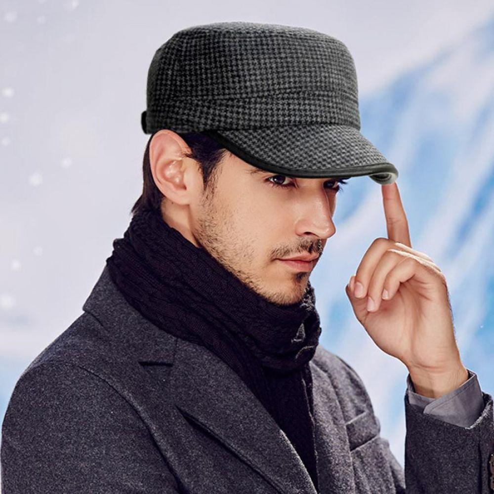 레더 라인 남성 귀달이 겨울 모자 방한 기모 모자 군밤모자 남자모자 누빔모자 방한모자 귀달이모자 캡모자 등산모자 야구모자 남자겨울모자
