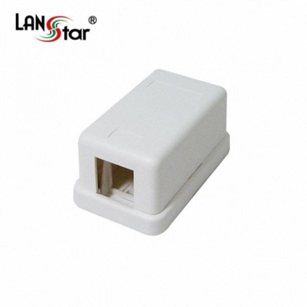 40060 LANstar 아울렛 공박스 노출형 1구 컴퓨터용품 PC용품 컴퓨터악세사리 컴퓨터주변용품 네트워크용품 무선공유기 iptime 와이파이공유기 iptime공유기 유선공유기 인터넷공유기