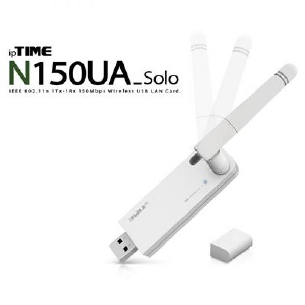 N150UA_Solo 11n USB 무선 랜카드 컴퓨터용품 컴퓨터부품 유무선랜카드 USB랜카드 컴퓨터주변기기