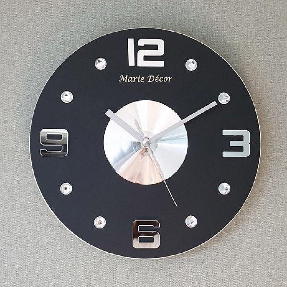 넘버포인트 무소음 오픈 벽시계 (블랙) 벽시계 벽걸이시계 인테리어벽시계 예쁜벽시계 인테리어소품