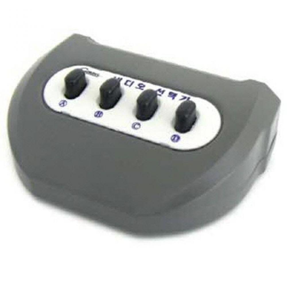 LC082 컴스 VIDEO 수동 선택기 41 컴퓨터용품 PC용품 컴퓨터악세사리 컴퓨터주변용품 네트워크용품 사운드분배기 모니터선 hdmi셀렉터 스피커잭 옥스케이블 hdmi스위치 hdmi컨버터 rgb분배기 rca케이블 av케이블