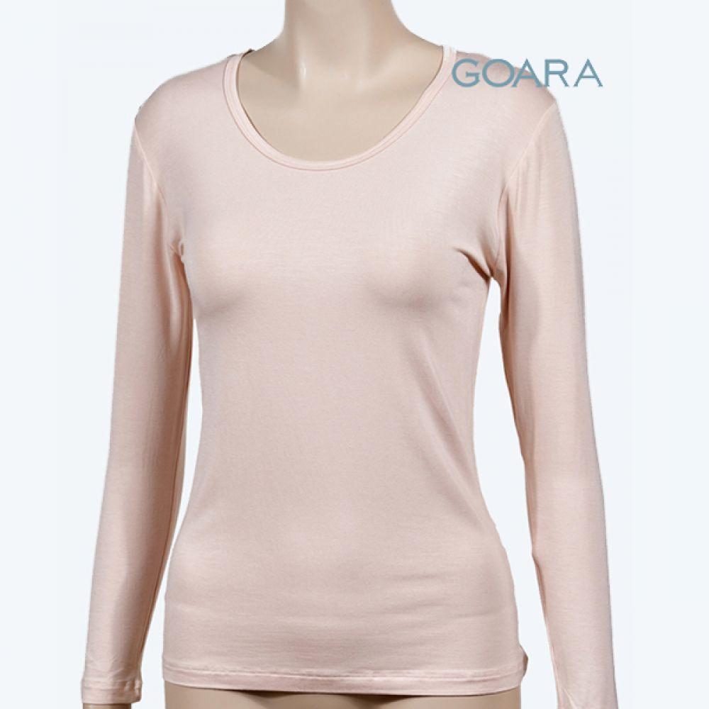 (고아라)(9600)텐셀 소프트 여성 상의 내의 여성내의 여성내복 여자내복 여자내의 여성속옷