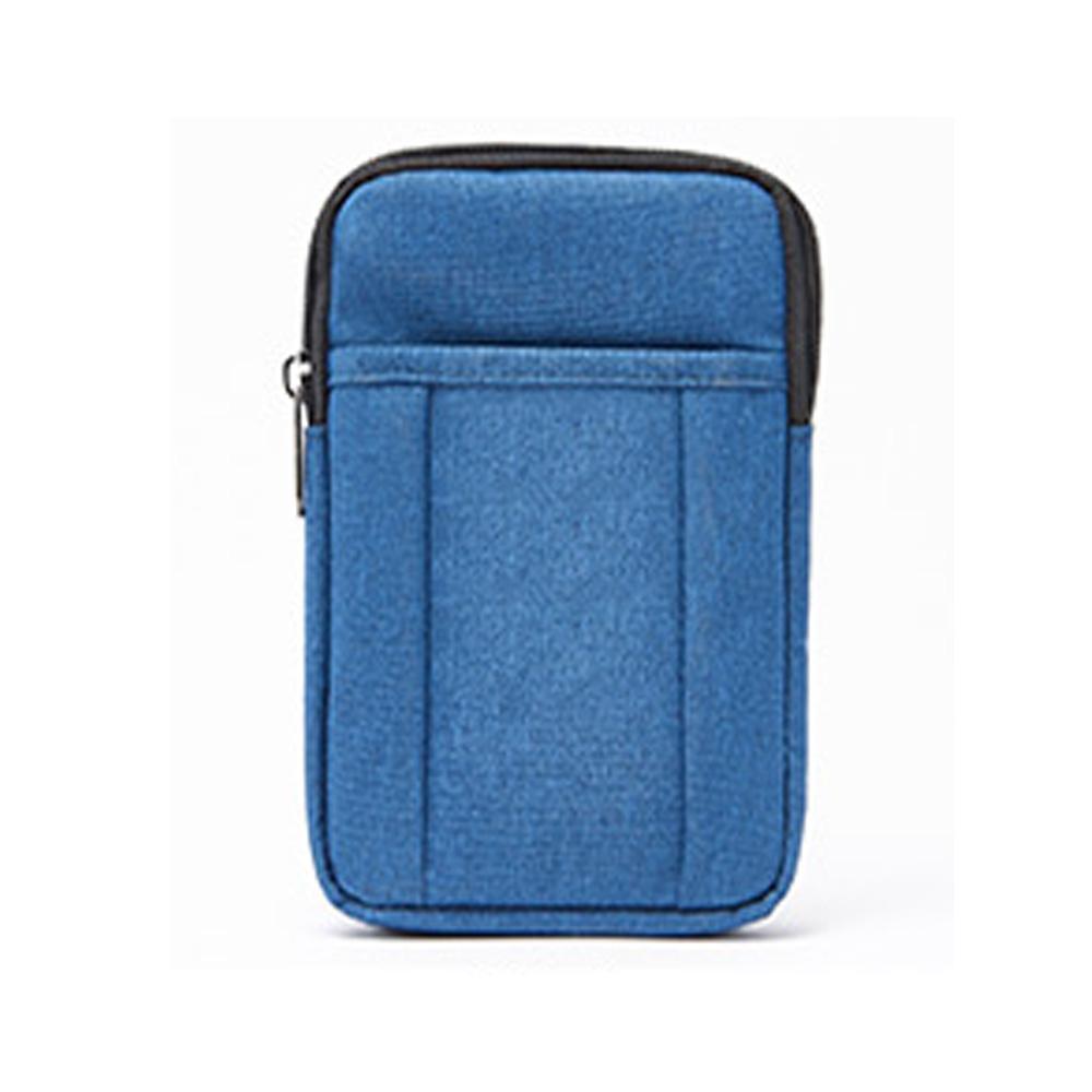 블루 미니 크로스 등산 보조 가방 핸드폰 수납 크로스백 크로스 남성크로스백 남자크로스백 옆으로매는가방