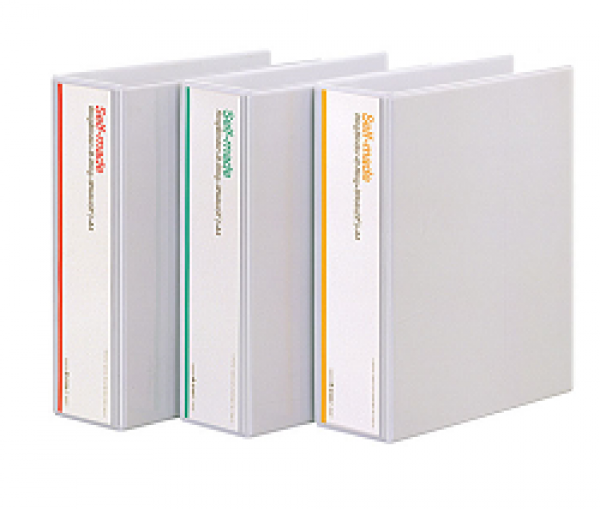 흰투 3공D링바인더 9cm B749B-7 클리어파일 링바인더 합지바인더 대용량파일철 다이어리 노트 복사용지 수입지화일 수입지바인더 종이화일 레버화일 스프링화일 와이어레버 레바클립파일