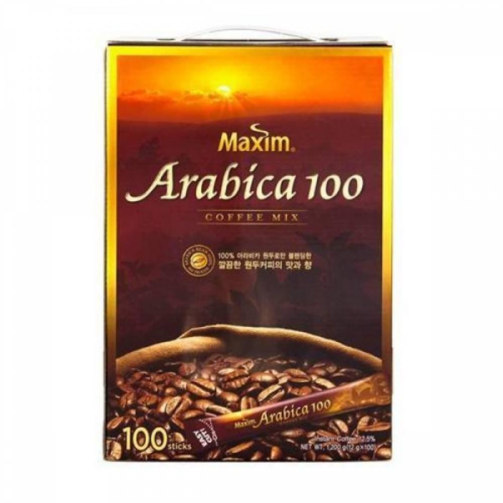 맥심 아라비카 커피믹스(11.8gX100T 동서식품) 814360 맥심 아라비카 커피믹스 12g 100T 동서식품 문구 오피스디포