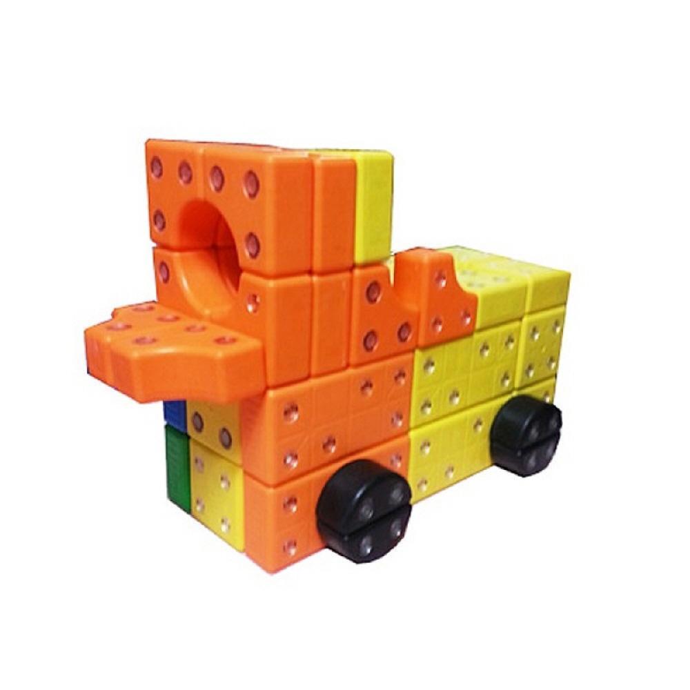 4세 유아 만들기 장난감 블록 키즈 창의 블럭 72p 3세 퍼즐 블록 블럭 장난감 유아블럭