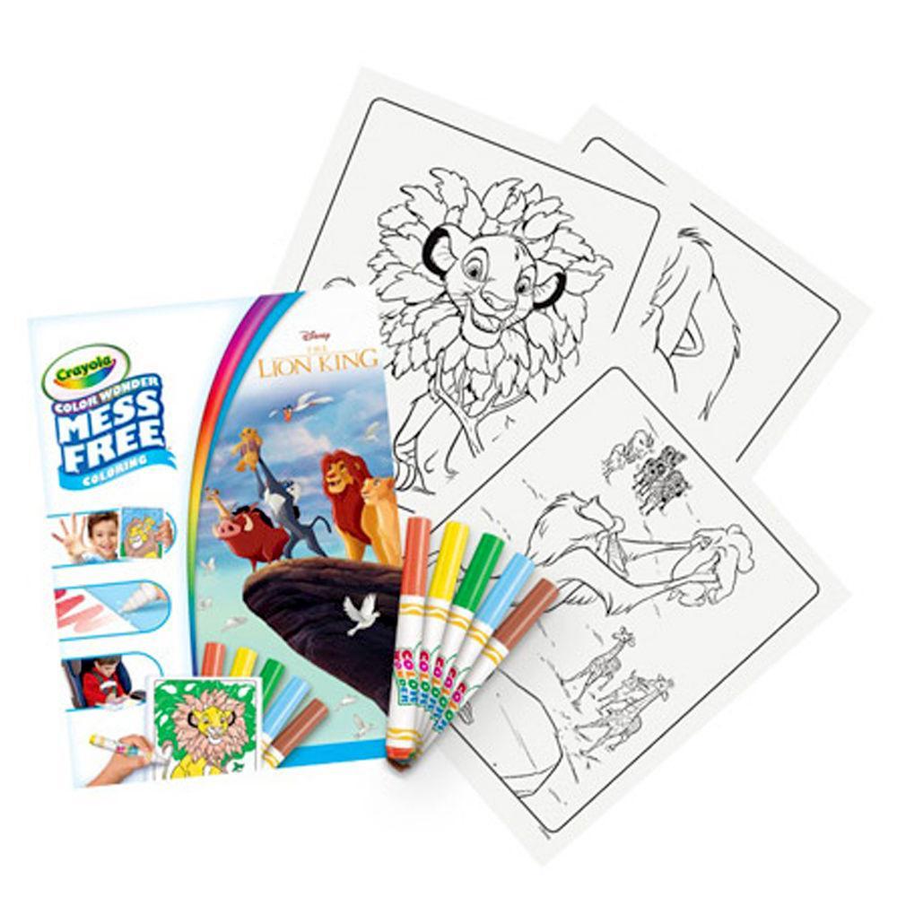 데이비드토이 크레욜라 칼라원더 메스프리 라이온킹 색칠놀이 색칠북 색칠공부 칼라북 미술놀이