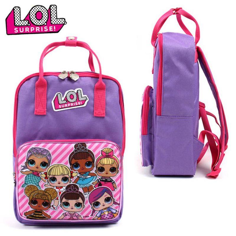코코브레인 LOL 사각백팩 (보라) 책가방 학생가방 아동가방 백팩 신학기