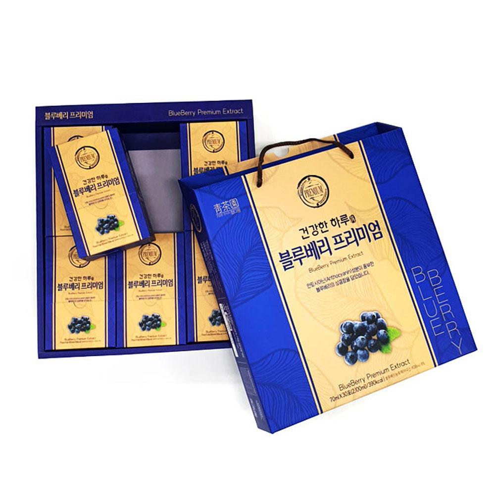 청다원 블루베리 프리미엄 30포세트 명절 선물세트 선물세트 명절선물세트 블루베리 블루베리즙 설선물세트