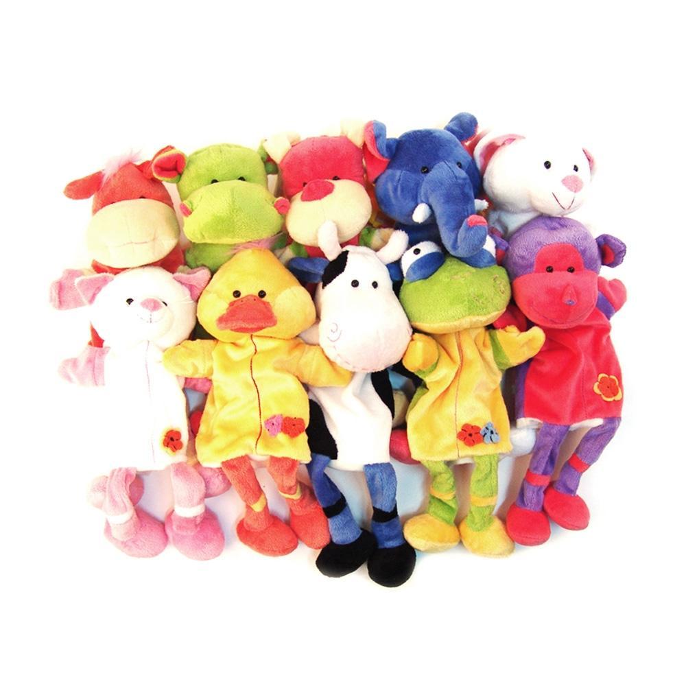 선물 유아 장난감 완구 10종 동물 캐릭터 손인형 생일 유아원 장난감 2살장난감 3살장난감 4살장난감