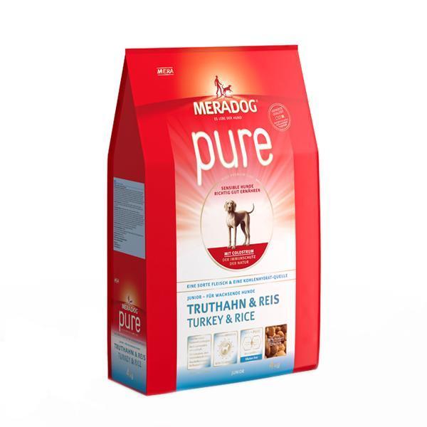 메라독 퓨어 주니어(칠면조n쌀n초유) 4kg 애완사료 건강사료 수제사료 애완용품 사료