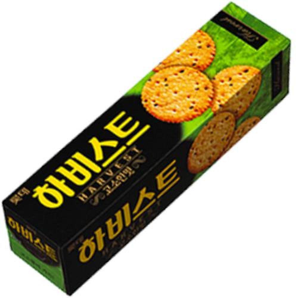 롯데 하비스트 1박스(88gx24봉) 과자 스낵 비스킷 행사 유치원 어린이집 도매 대량