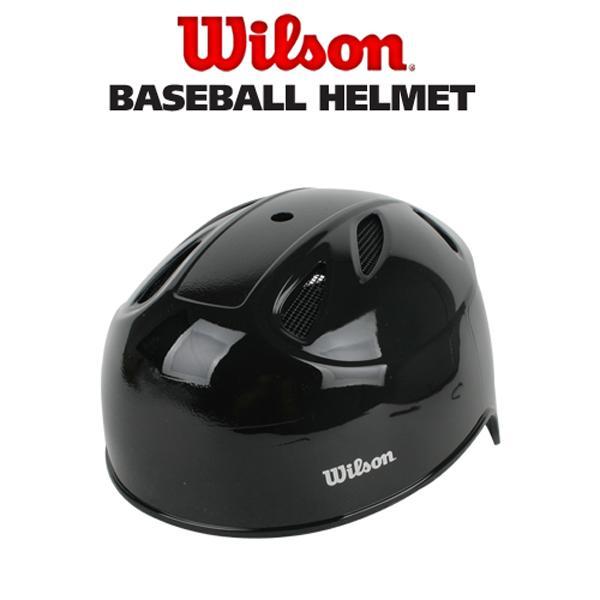 윌슨 WTA3109BK14 유광 캐쳐헬멧 - 블랙 야구헬멧 윌슨 윌슨야구헬멧 야구용품 타자헬멧 유광야구헬멧 윌슨헬멧 포스헬멧