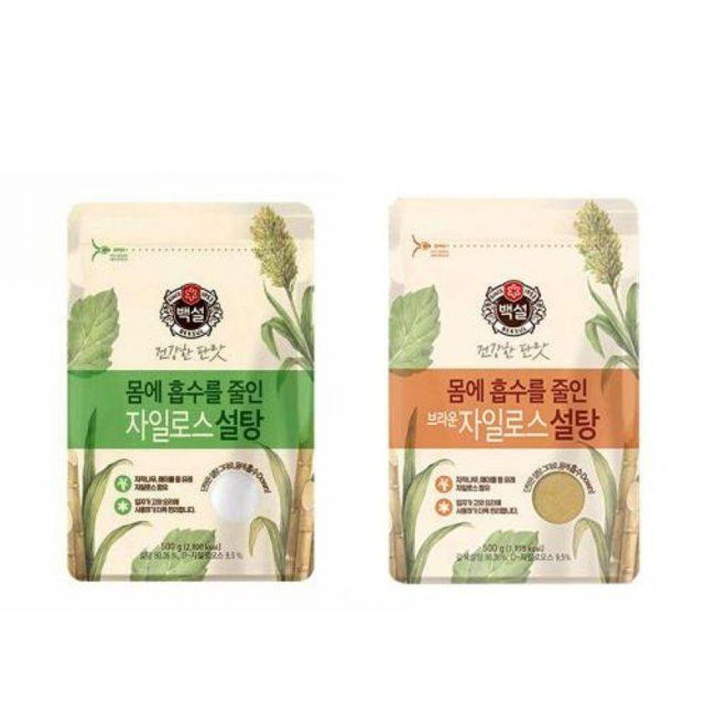 자일로스 설탕 브라운 설탕 500g 커피 차 음료 요리 설탕3kg 간장 물엿 소금 고추장 설탕1kg 백설탕 식용유 진간장 마늘