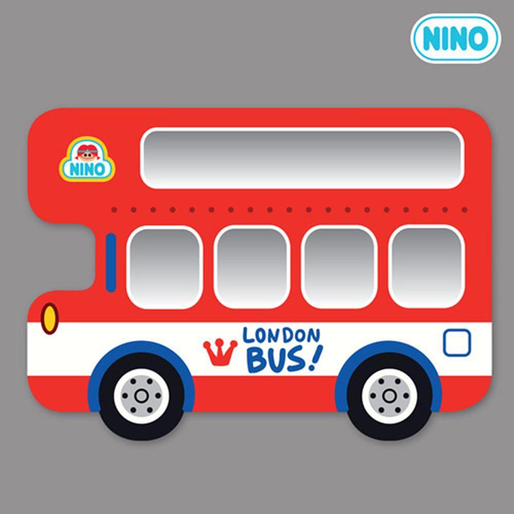 측면 아이방 소품 안전 거울 니노 미러보드 런던버스 안전거울 어린이집 유아원 인테리어소품 아이놀이