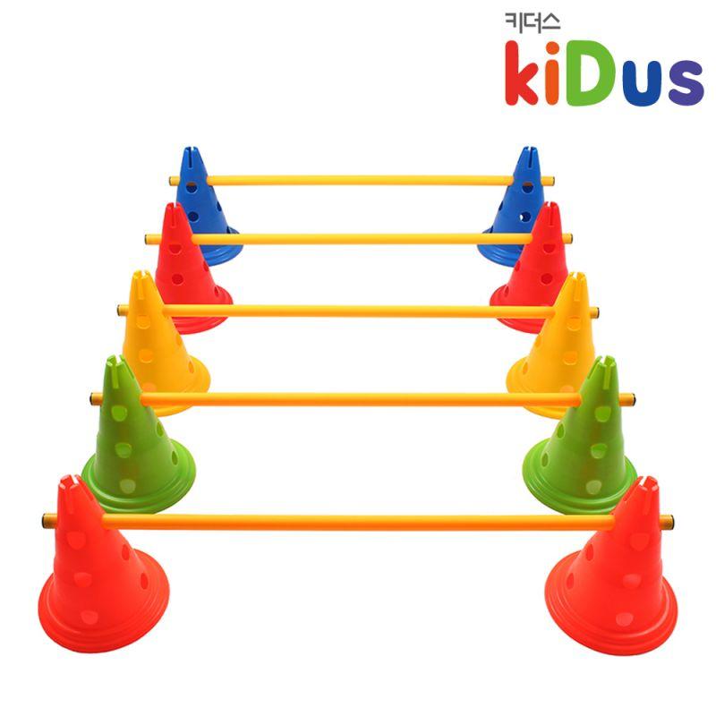 키더스 허들콘 시스템 30cm(풀세트) 유아체육 학교 유치원 어린이집 축구 접시콘 칼라콘 라바콘 꼬깔콘 안전용품