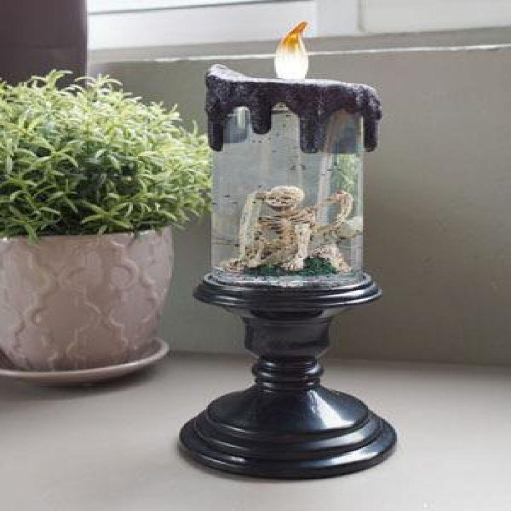 해골 촛대 LED 워터볼 인테리어소품 오르골 미니어처소품 장식소품 할로윈소품