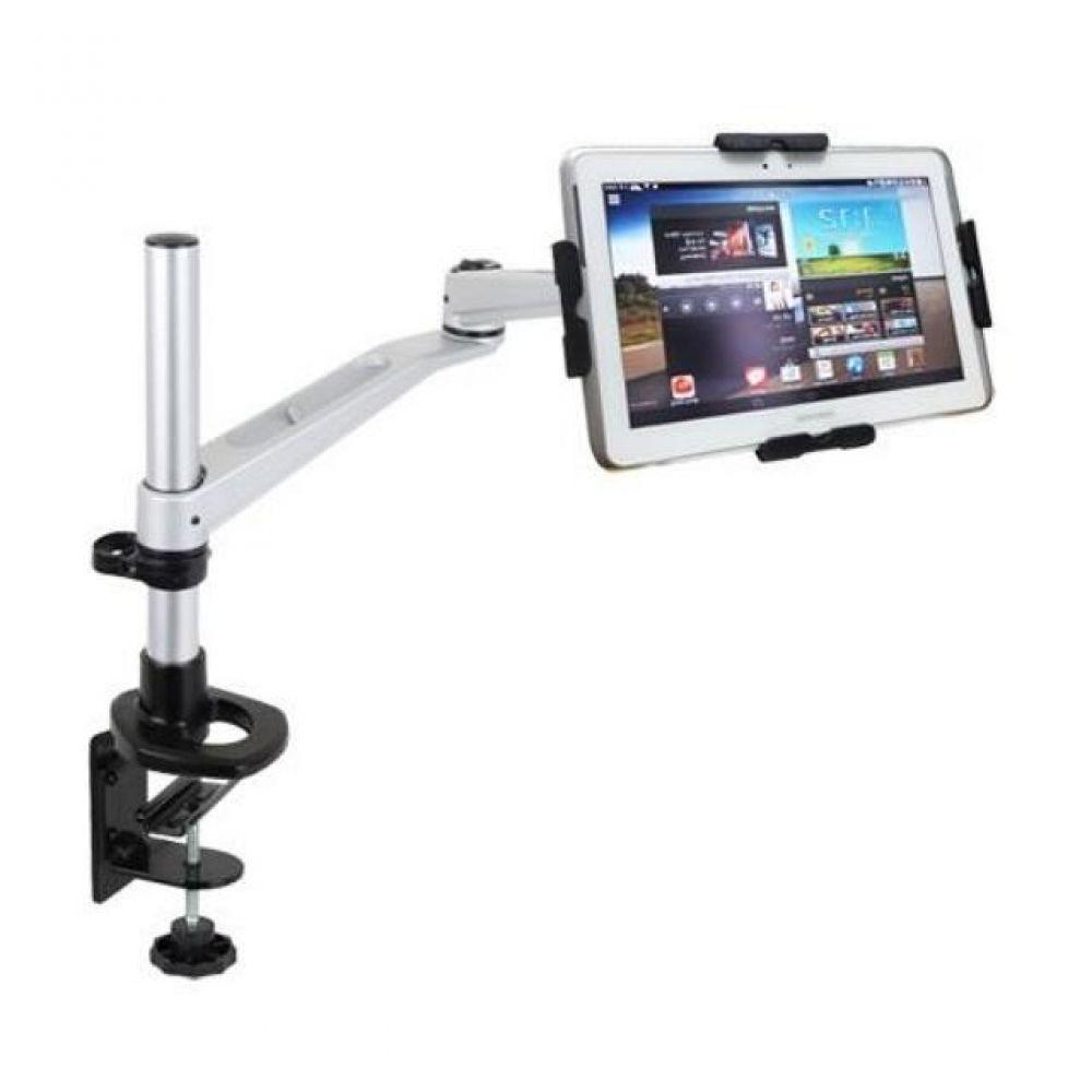 N301 LED 탁상 브라켓 태블릿 거치대세트(9-13형) 태블릿거치대 실용적 견고한스틸본체 가성비좋은 감각적인디자인 스탠드거치대 튼튼한거치대 높이조절 상하좌우 각도조절