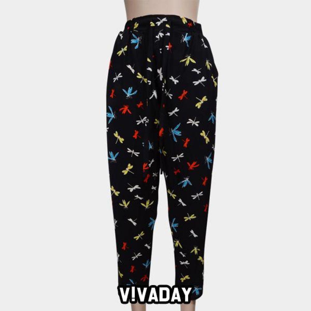 VIVADAY-SC363 시원하게 입는 9부바지 홈웨어 이지웨어 긴팔 반팔 내의 레깅스 원피스 잠옷 덧신 알라딘바지