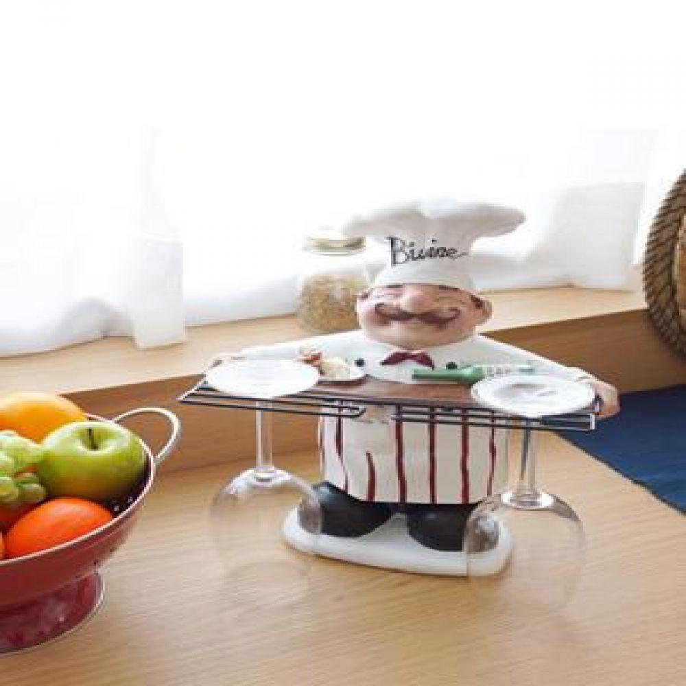 덴마크 주방장 와인잔 걸이 주방소품 주방용품 와인잔걸이 인테리어소품 장식소품