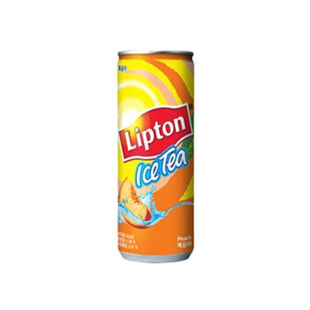 칠성) 립톤 아이스티 복숭아 240ml x 30캔 믿을 수 있는 정품정량 음료 음료수 음료수도매 복숭아아이스티 캔음료