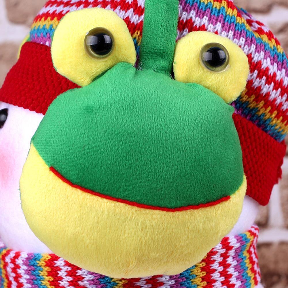개구리 왕눈 귀마개 팬시귀마개 귀덮개 귀도리 복슬이귀마개 귀마개 방한귀마개 기모귀마개 털귀마개