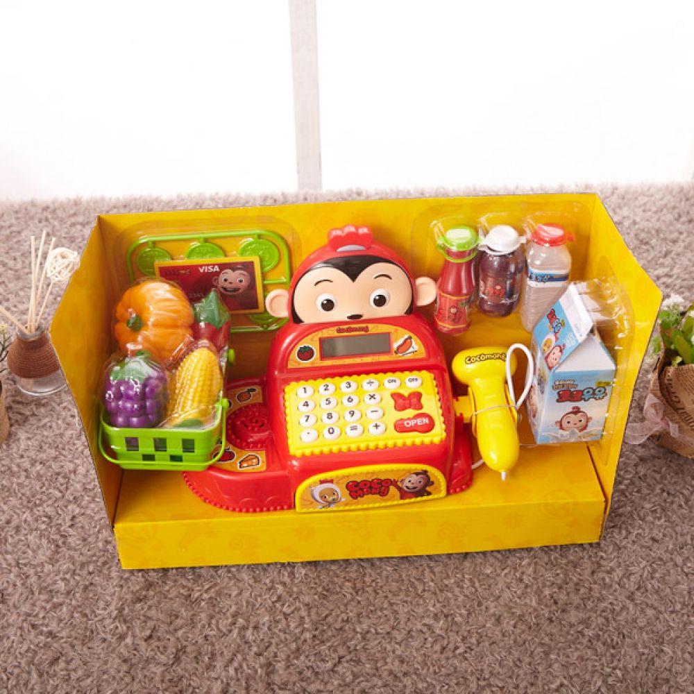 코코몽 마트 계산대 마트놀이 로봇 완구 유아장난감 마트놀이 로봇 완구 캐릭터완구 유아장난감