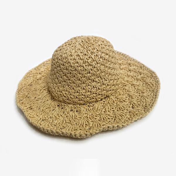 HAT 클램 버킷햇 밀짚모자 벙거지 조개챙모자 여행 클램 버킷햇 햇 모자 바캉스모자 벙거지 지사모자 조개챙모자 여행