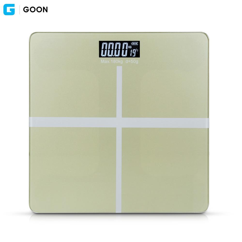 GOON 디지털 체중계 (실버) 디지털체중계 체중계 몸무게 체중 저울