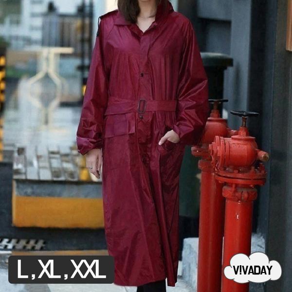 W18 롱코트 우의 우비 레인코트 우의 비 비옷 여름철 장마 장마비옷 여성우의 남성우의