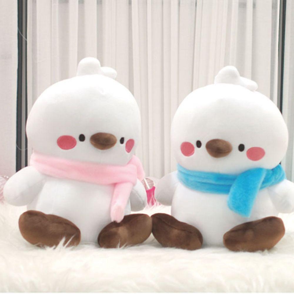 꿈요정 아기새 피누 가방걸이 인형 국내 정품 캐릭터 피누가방걸이인형 모찌인형 캐릭터인형 중형인형 16cm인형 큐방인형