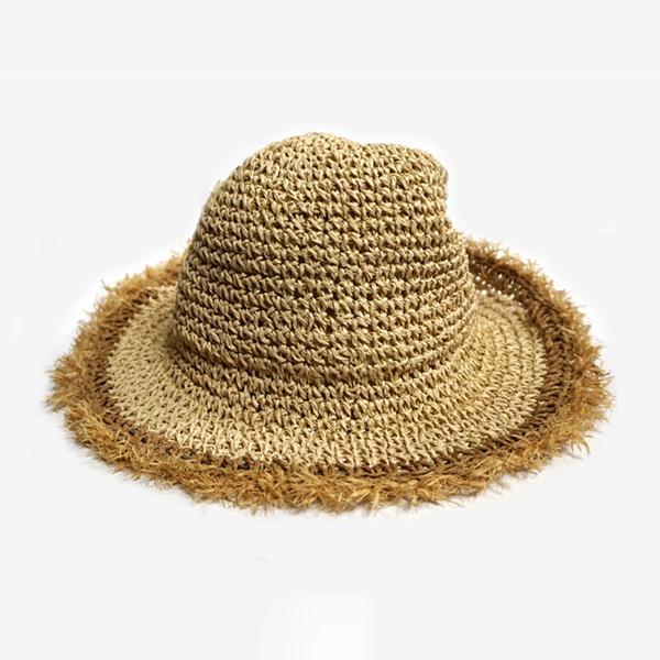 HAT 내츄럴 버킷햇 밀짚모자 벙거지 챙모자 여행 버킷햇 햇 모자 바캉스모자 벙거지 밀짚모자 챙모자 여행