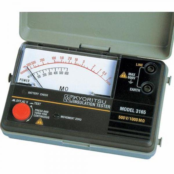 교리쯔 절연 저항계(아날로그) 4160674 절연저항계 절연저항 절연저항측정 측정공구 측정