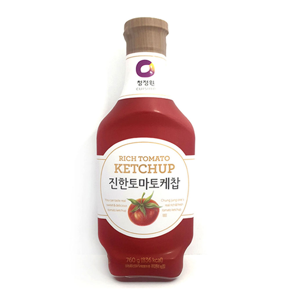 청정원 진한 토마토케찹 760g 케첩 토마토케챂 케찹 토마토케찹 케챂 청정원 토마토소스