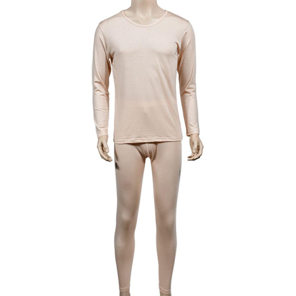 (린다)(3043상하세트) 천연 자연섬유 텐셀 베이직 컬러 남성 내의 상하세트 남성내복 남자내복 남성내의 남자내의 상하세트