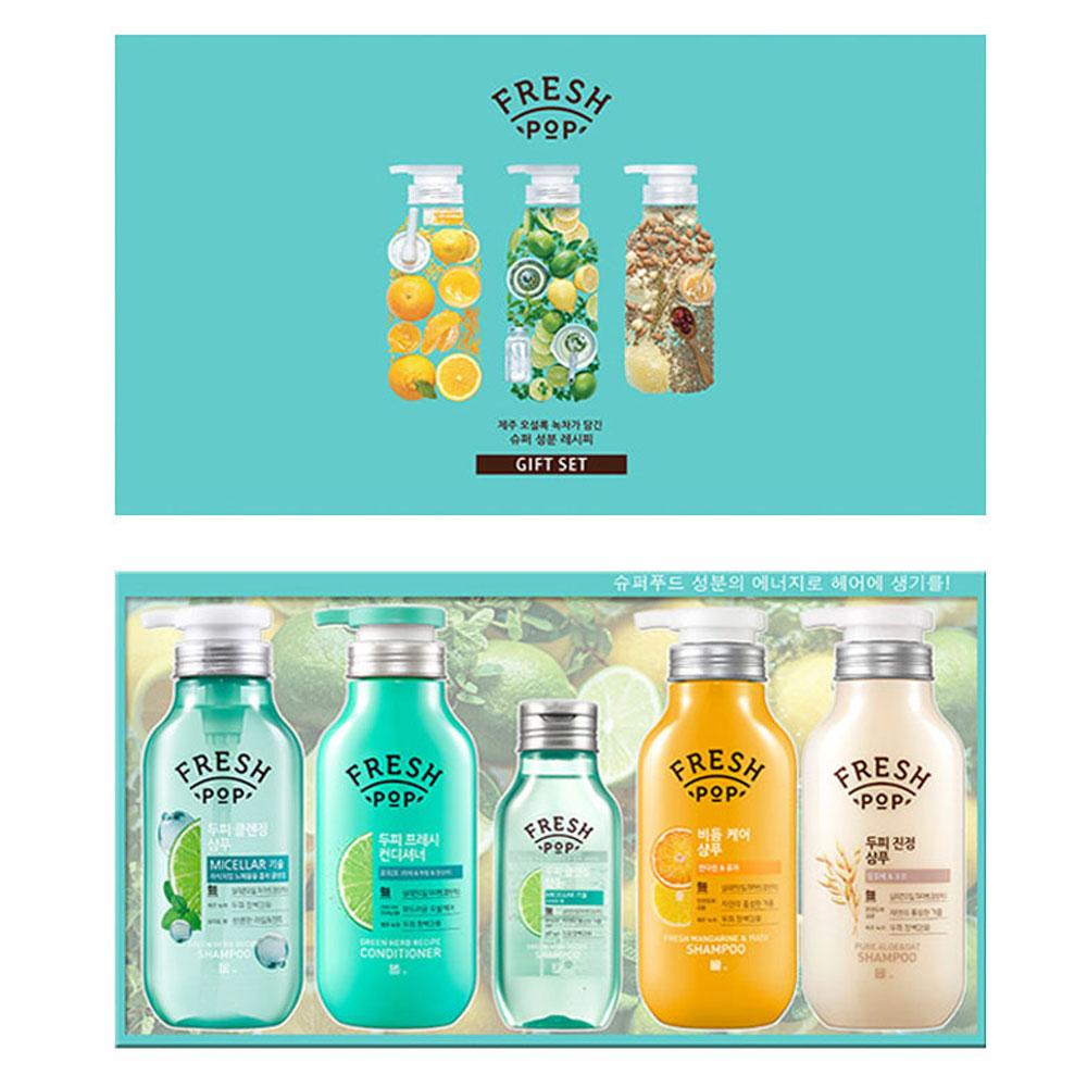 아모레 프레시팝 베이직 선물세트 샴푸린스 명절선물 아모레퍼시픽 샴푸린스 바디워시 명절선물 선물세트
