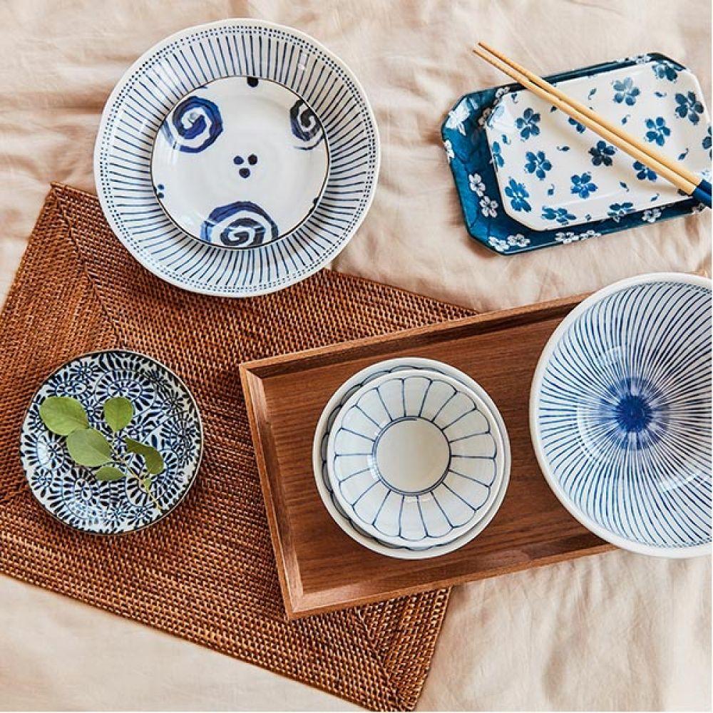 기꾸 공기 5P 주방용품 예쁜그릇 그릇 밥그릇 공기 예쁜그릇 주방용품 그릇 밥그릇