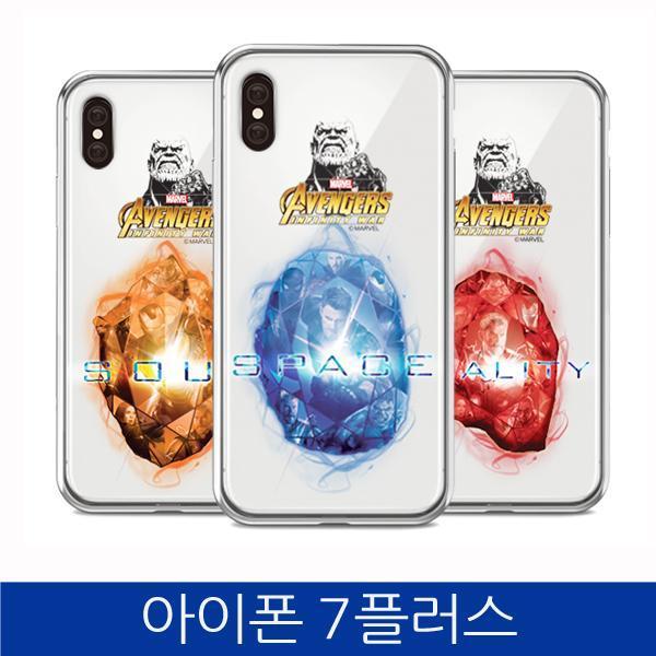 몽동닷컴 아이폰7플러스. 인피니티 워 스톤 투명 폰케이스 iPhone7 PLUS case 핸드폰케이스 스마트폰케이스 마블케이스 인피니티워케이스 아이폰7플러스