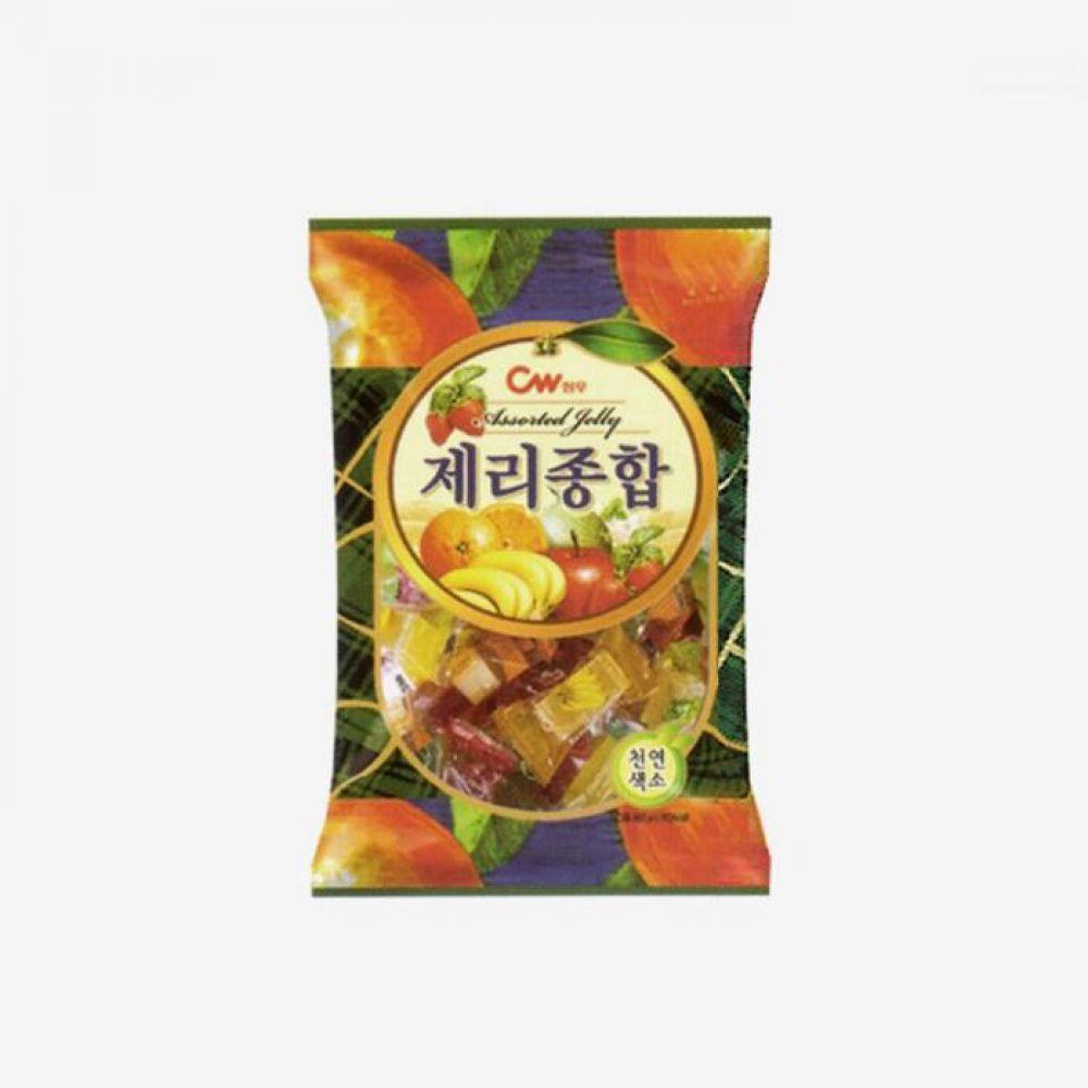 청우 제리 종합 450g 1박스 청우식품 간식 주전부리 스낵 과자 캔디 제리