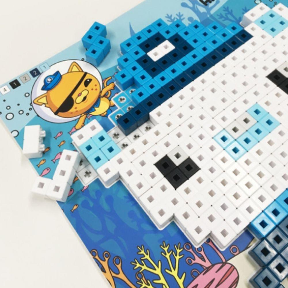 스마트블럭 퍼즐놀이 옥토넛 바다탐험대 블록 블럭 장난감 퍼즐 놀이 교구 AR 증강 크리스마스 선물 어린이 조카 아동