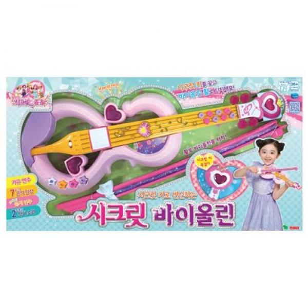 영실업 시크릿쥬쥬 뉴 시크릿 바이올린(62076) 장난감 완구 토이 남아 여아 유아 선물 어린이집 유치원
