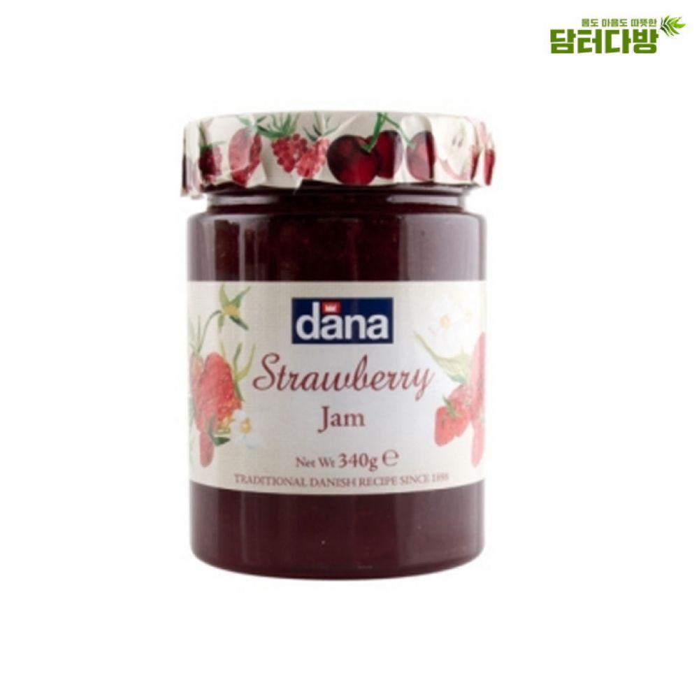 다나 딸기잼 340g 다나잼 고급스러운잼 맛있는잼 누구나좋아하는 딸기잼 블루베리잼 새콤달콤한 계속먹게되는 아이들간식용