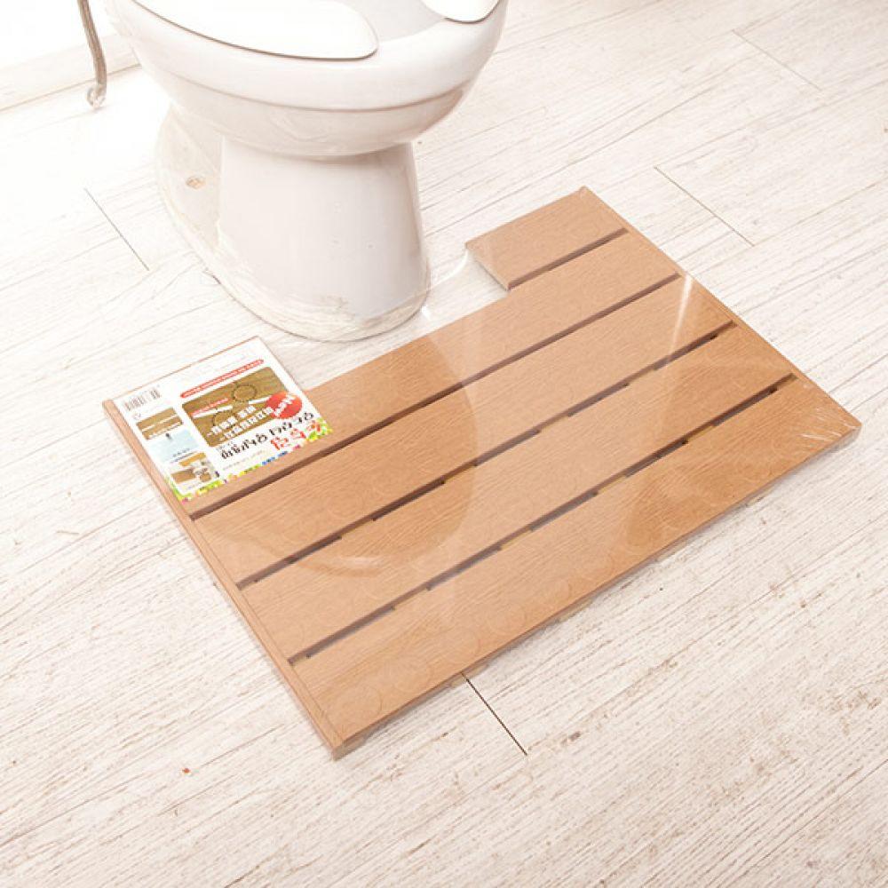 논슬립우드무늬발판 트임 욕실용품 미끄럼방지 욕실용품 발판 미끄럼방지 논슬립 욕실발판