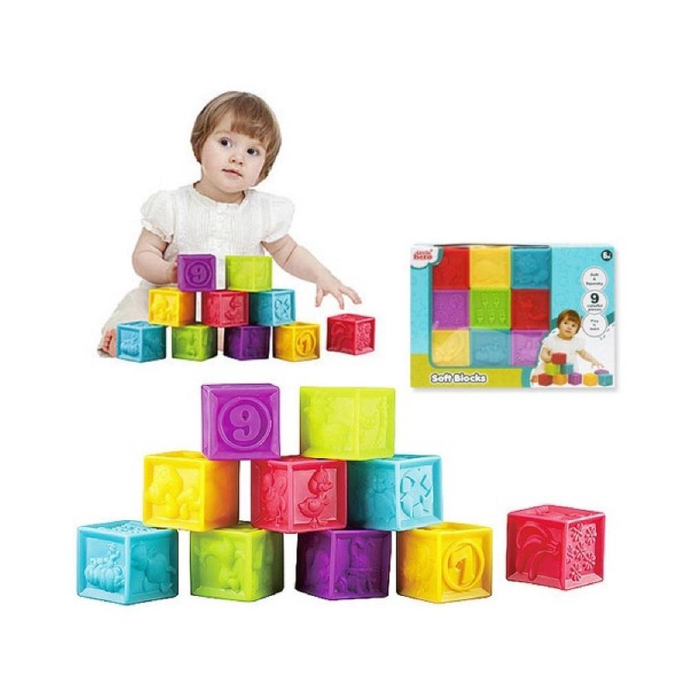 9P 어린이집 교구 장난감 블록 소프트 히어로 퍼즐 블록 블럭 장난감 유아블럭