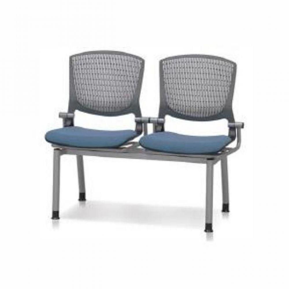 2인용 연결의자 팔무(사출-쿠션) 620 로비의자 휴게실의자 대기실의자 장의자 3인용의자 2인용의자 약국의자 대합실의자