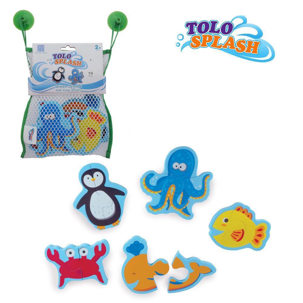 톨로(스플래시) 오션퍼즐 (50204) 목욕완구 장난감 목욕놀이 유아완구 아기완구