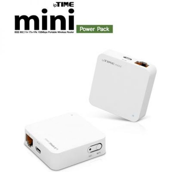 mini Power Pack유무선IP공유기 컴퓨터용품 컴퓨터주변기기 공유기 유무선공유기 와이파이