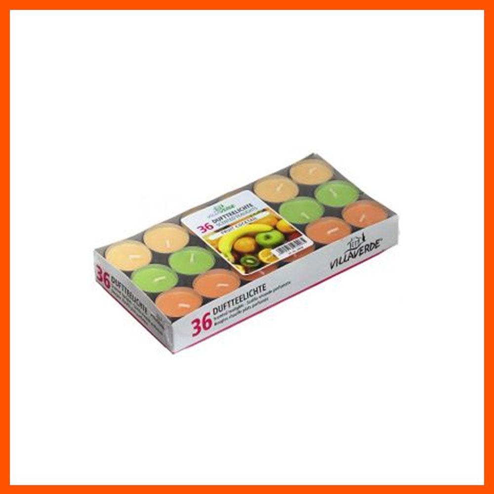 아로마 캔들 프루트 칵테일 틴형 (36개입) 캔들 디퓨저 아로마캔들 향초 홈데코 향수캔들 집들이선물 파티캔들 아로마향초 독일캔들